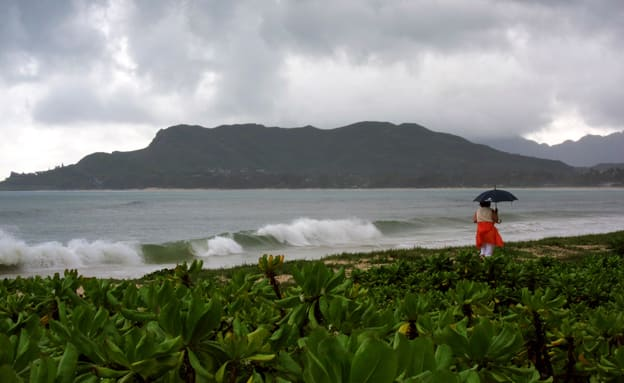 הודעה על טיל לעבר הוואי -