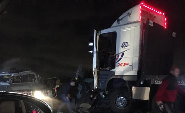 שני חיילים נהרגו בתאונה בכביש 6