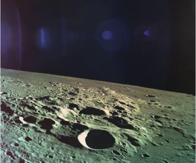 Une photographie prise par le vaisseau spatial Genesis