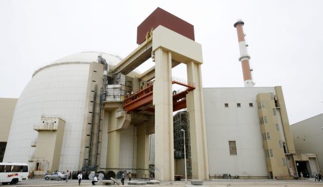 Réacteur nucléaire en Iran