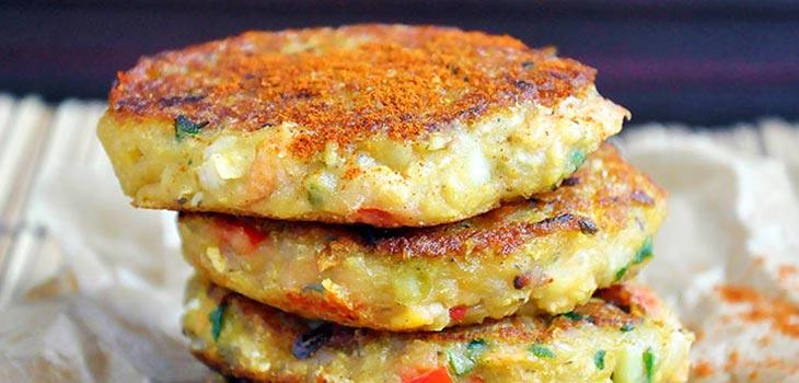Red Lentil Rice Cakes